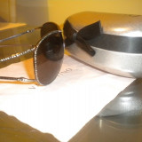 Ochelari de soare VALENTINO GBC-E5 originali, Femei, Negru, Metal
