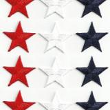 Emblema brodata adeziva - stea
