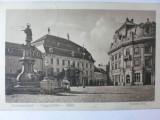 SIBIU - HERMANNSTADT - PIATA MARE - FOTO EMIL FISCHER - ANUL 1908