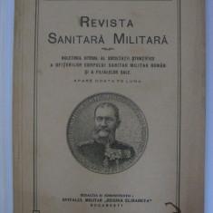 REDUCERE 15 LEI!!! REVISTA SANITARA MILITARA DIN MAI 1934