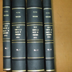 P. Vasilescu Tratat de procedura civila 4 volume 1939 - 1943