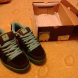 Airwalk Ebel Shoe Junior Black/Lime 3 - Adidasi copii Airwalk, Marime: 39, Culoare: Negru, Unisex, Negru