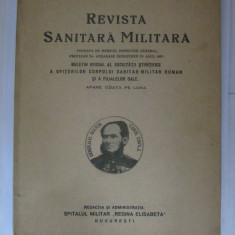 REDUCERE 15 LEI!!! REVISTA SANITARA MILITARA DIN APRILIE 1938