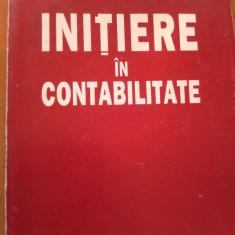 INITIERE IN CONTABILITATE