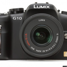 Panasonic Lumix DMC G10 - Aparat Foto Mirrorless Panasonic, Kit (cu obiectiv)