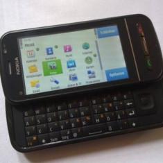 Nokia c6-00 - Telefon mobil Nokia C6, Negru, Neblocat