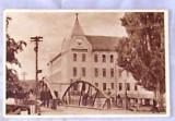 Carte postala HATEG, alb-negru, RPR, necirculata dar inscriptionate cu data cumpararii, IULIE 1952-70 ani!!!
