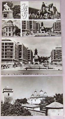 SET 3 carti postale IASI, alb-negru, RPR, necirculatadar inscriptionata cu data cumpararii 1967, foto