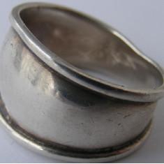 Inel vechi din argint (123) - de colectie