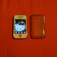 Samsung Galaxy Y Hello Kitty - Telefon mobil Samsung Galaxy Y, Alb, Neblocat
