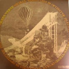 OCOLUL PAMANTULUI IN OPTZECI DE ZILE de JULES VERNE (DISC VINIL) - Muzica pentru copii electrecord