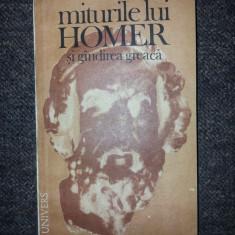 Miturile lui Homer si gindirea greaca - Felix Buffiere - Roman, Anul publicarii: 1987