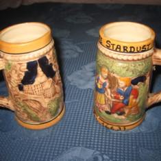 Halbe mici pereche din ceramica Cafe Stardust