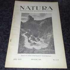 Revista pentru raspandirea stiintei - Natura - mai - iunie 1946