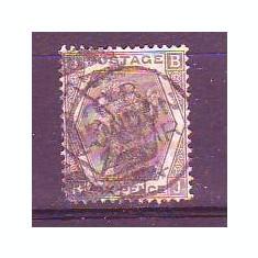 1872 Anglia Mi. 39 stampilat