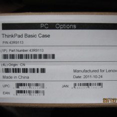 Geanta laptop Lenovo (ThinkPad basic case), 15 inch, Neopren, Negru