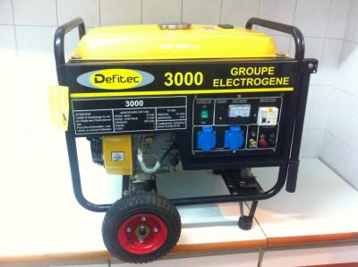Generator de Curent Marca ,,DEFITEC 3000 este k nou foto