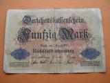 Germania  50  mark  1914  august  5  Berlin  BNr82