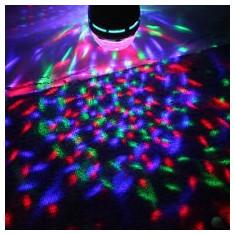 nou! SUPER LUMINA DISCO-SFERA MAGIC BALL- MULTICOLORA PE LEDURI RGB 3 WATT,FOARTE PUTERNICA.IDEALA DISCO,DJ,PARTY,ACASA.