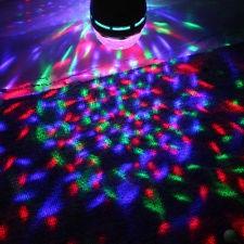 nou! SUPER LUMINA DISCO-SFERA MAGIC BALL- MULTICOLORA PE LEDURI RGB 3 WATT,FOARTE PUTERNICA.IDEALA DISCO,DJ,PARTY,ACASA. foto