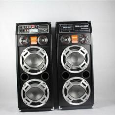 MEGA SET BOXE AMPLIFICATE 500 WATT, MIXER INCLUS, LUMINI DISCO, PT.SONORIZARI, DJ, CASA!