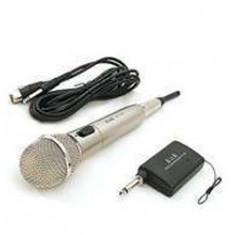 MICROFON WIRELESS PROFESIONAL, DJ, DISCO, KARAOKE+RECEIVER+ADAPTOR COMPUTER BONUS! - Echipament karaoke