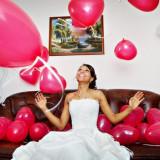 BALON JUMBO EXPLODER CU MINI BALOANE SI CONFETTI PENTRU O PETRECERE REUSITA! JUMBO BALON! - Decoratiuni nunta