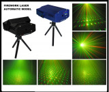 BLACK FRIDAY! LASER DISCO 3D STAR SHOWER ROSU+VERDE.EFECTE 3D, OFERTA 1+1GRATIS!