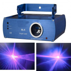 LASER DISCO DE PUTERE ALBASTRU-MOV, 120 mw, DE MARCA SHINP SL5P! NOU! - Laser lumini club