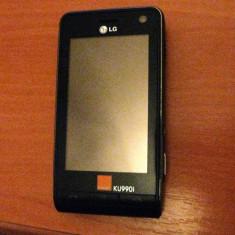 Vind telefon Lg Ku 990, Negru, 3.2'', Smartphone, Touchscreen, 5 MP