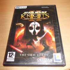 Joc PC original - STAR WARS - Knights / PC games - STAR WARS - Knights / Joc de colectie - STAR WARS - Knights - Jocuri PC Electronic Arts, Role playing, 16+, Multiplayer