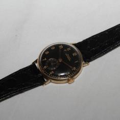 Ceas aur 14 k DOXA...reducere - Ceas barbatesc Doxa, Lux - elegant, Mecanic-Manual, Piele, Analog