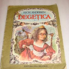 DEGETICA - H.C. Andersen - Carte de povesti