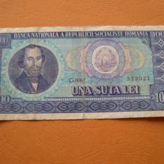 100 lei 1966 G0082 - Bancnota romaneasca