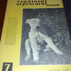 Revista vanatorul si pescarul sportiv - iulie 1962