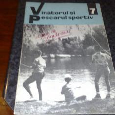 Revista vanatorul si pescarul sportiv - iulie 1967