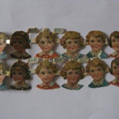 REDUCERE 20 LEI!!! CARTONASE(CARTOLINE) DE COLECTIE DE LA CIOCOLATA DIN ANII 30 - Cartonas de colectie