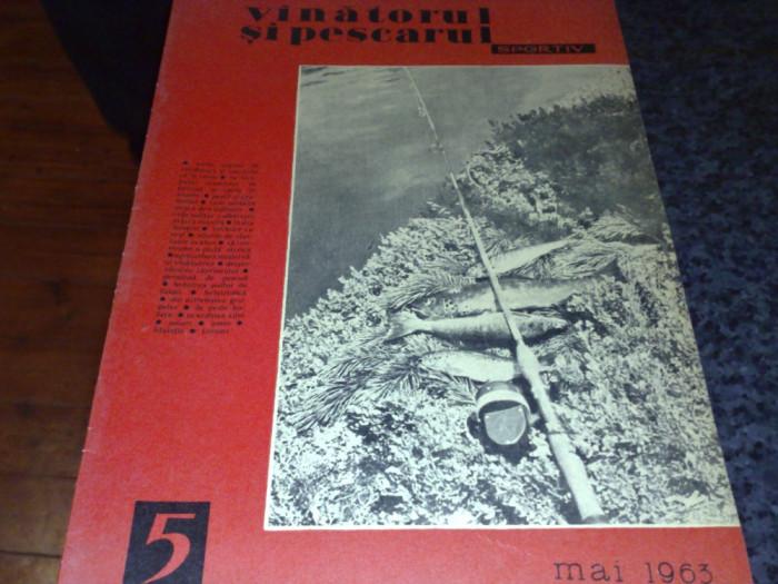 Revista vanatorul si pescarul sportiv - mai 1963 foto mare