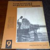 Revista vanatorul si pescarul sportiv - septembrie 1964