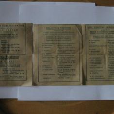 3 RECLAME LA CARTI DIN ANII 30 - Reclama Tiparita