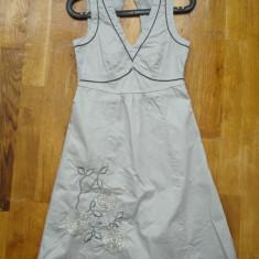 Vero Moda rochita superba, marimea 36, doar 129 lei!!! - Rochie de zi Vero Moda, Culoare: Gri, 3/4, Cu bretele, Bumbac