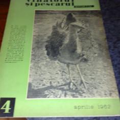 Revista vanatorul si pescarul sportiv - aprilie 1962