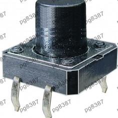 Push buton, microintrerupator 12x12x13 mm-4405