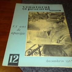 Revista vanatorul si pescarul sportiv - decembrie 1963