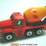 MATCHBOX-LESNEY-made in England-CEMENT TRUCK++2100 de licitatii !! - Macheta auto Matchbox, 1:87