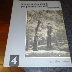 Revista vanatorul si pescarul sportiv - aprilie 1965