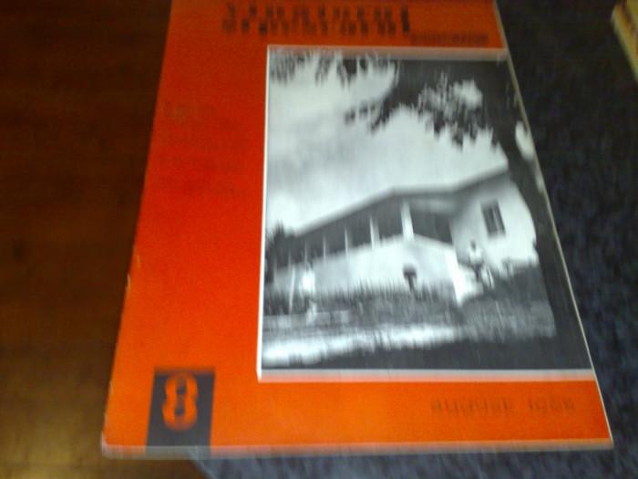 Revista vanatorul si pescarul sportiv  -  august 1965 foto mare