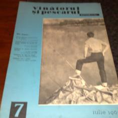 Revista vanatorul si pescarul sportiv - iulie 1965