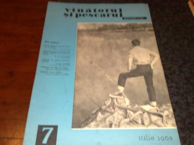 Revista vanatorul si pescarul sportiv  -  iulie 1965 foto