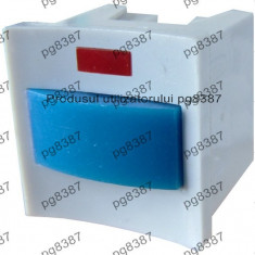 Push buton, microintrerupator reset, cu led, fara retinere-4610